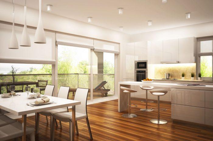 Jak kłaść panele i płytki w kuchni?